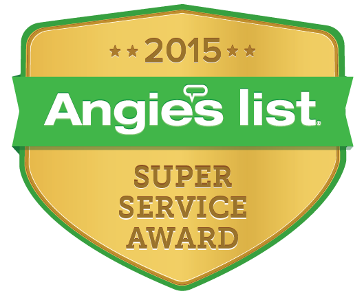 Angie's List Super Service Award Winner 2015